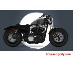 Rent a Harley Davidson in Goa - Unclutch Goa