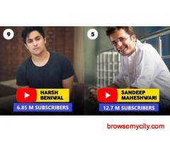 Top 10 Most Subscribed Indian Individual YouTube Channels