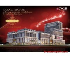 Buy PKS Town Central Shops Noida Extension. Call @9250002243