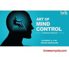 Art of Mind Control-Free Workshop at ISKCON Temple