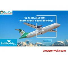 EaseMyTrip Coupons, Deals & Offers: Up to Rs.7500 Off International Flight Bookings