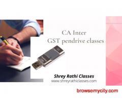 CA Inter GST pendrive classes