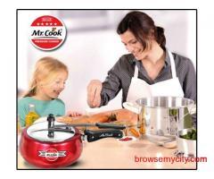 Steel pressure cooker