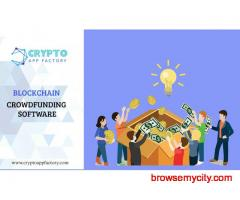 How this Blockchain does powered CrowdFunding Script work-crypto app factory