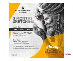 Learn Sketching & Drawing at Imagination Academy and save up to ₹15,600