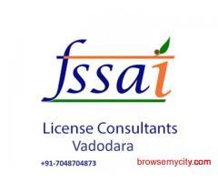 FSSAI license process in vadodara