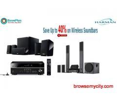 Save Up to 40% on Wireless Soundbars