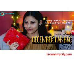 The Merry Maker December Fab Bag From Rs.599
