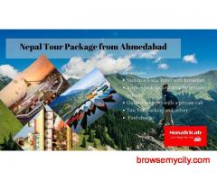 Ahmedabad to Nepal Tour Package, Nepal Tour Package from Ahmedabad