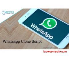 Whatsapp Clone Script-crypto app factory