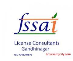 Consultant for FSSAI license in Gandhinagar