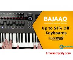 Bajaao Coupons, Deals & Offers: Up to 54% Off Keyboards