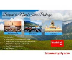 Bhopal to Nepal Tour Package, Nepal Tour Packages from Bhopal