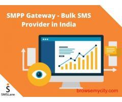 SMPP Gateway - No.1 Bulk SMS Service Provider in India – SMSLane