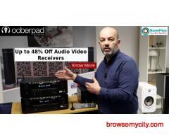 Get Up to 48% Off Audio Video Receivers At Ooberpad