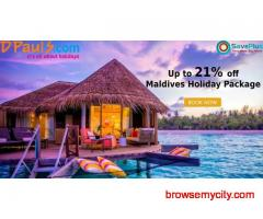 Dpauls Coupons, Deals & Offers: Up to 21% off Maldives Holiday Package