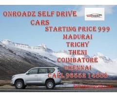 Self Driving Cars Rental Trichy | Madurai