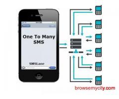 One to many SMS - Online Bulk SMS solution   SMSLane  