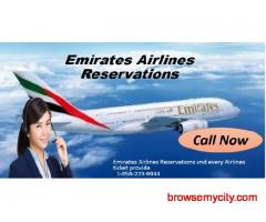 Find Affordable Flights by Emirates Airlines Reservations
