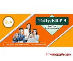 Join best Tally Training Course Provider Institute in Gurgaon at SLA Consultants Gurgaon