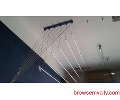Kapde Sukhane Hangers in Mokila, Call 6309850756 Roof Hanger in Mokila Call 8367558819, Cloth Hanger
