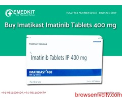 Imatikast 400 mg Tablets Supplier from India