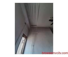 Clothes Drying Hanger Wall Mount Roof Hanger Narsingi Call 6309850756 Balcony Hanger Narsingi