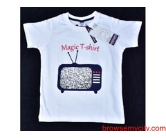 Digital Magic T-shirt for Kids, Multicolor, 5-15 Years