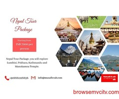 Nepal Tour Package, Nepal Tour Price