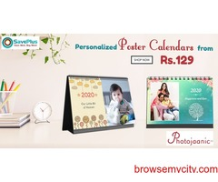 Buy Personalized Poster Calendars from Rs.129 At Photojaanici