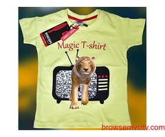 Digital Magic T-shirt for kids 5-15 years