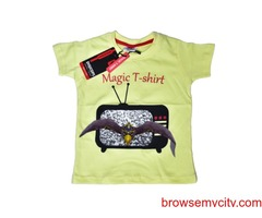 Digital Printed Magic T-shirt for Kids only in 999/-
