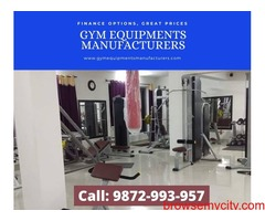Imported gym and fitness equipments manufacturer Punjab