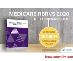 Medicare RBRVS 2020: The Physicians' Guide for $159 only