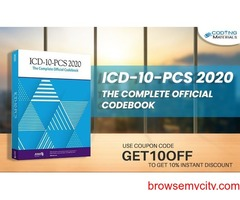 Exclusive discount ICD-10-PCS 2020 the Complete Official Codebook at JUST $108.95