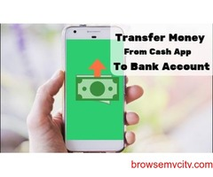 How to transfer money from cash app to bank account