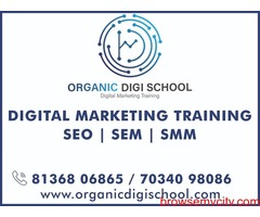 Digital Marketing Course in Kochi - Organic Digi school (https://www.organicdigischool.com/)