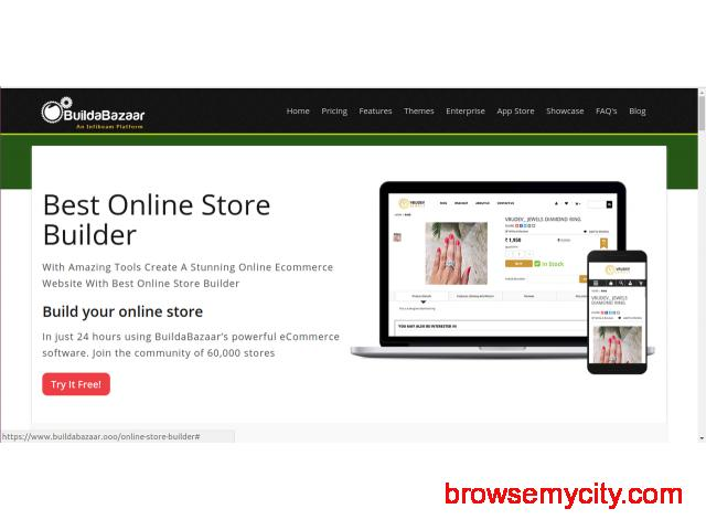 Create New Website with Best Online Store Builder! - 17206