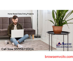 Work at home offering data entry projects