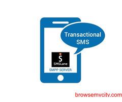 Transactional SMS - No.1 Bulk SMS Service Provider India   SMSLANE  