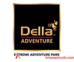 Explore Exciting Adventure Activities At Della Adventure Park.