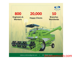Best Combine Harvester for Your Farm