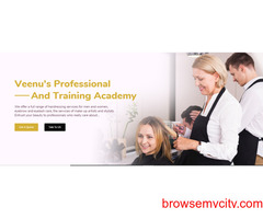 makeup and hair artists near me - veenus professional