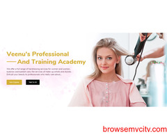 Top Beauty Parlor in Faridabad - Veenus Professional