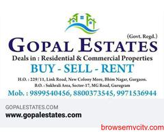 1bhk near Shipuri area in Sector 7 Gurgaon 9899323880