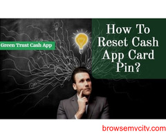 How to reset cash app card pin