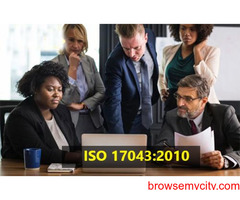 ISO 17043 Certification Consultancy in India