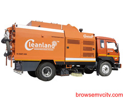 HIRE our Truck Mounted or Ride On sweeping machines