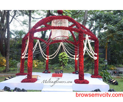 Mandap Decoration | Wedding Mandap Decoration | Mandap decoration Bangalore |Melting Flowers