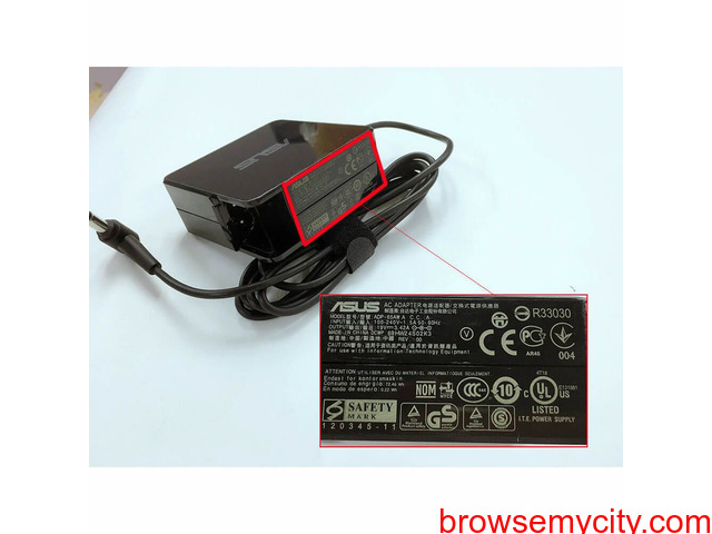 Asus ADP-65GD adaptateur chargeur 19V 3.42A 65W - 1/1